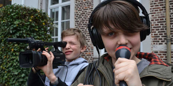 video film workshop hasselt limburg straatreportage wat zit er in je handtas