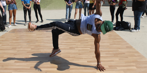 breakdance hiphop urban workshop scholen villa basta limburg antwerpen vlaams-brabant