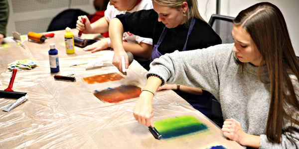 mixed media workshops beeld villa basta